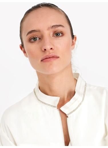 Twist Ceket Beyaz
